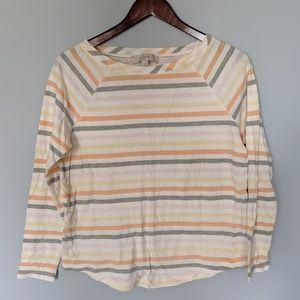 LOFT lightweight summer colors long sleeves